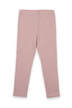 nether: Children pink pants on a white background