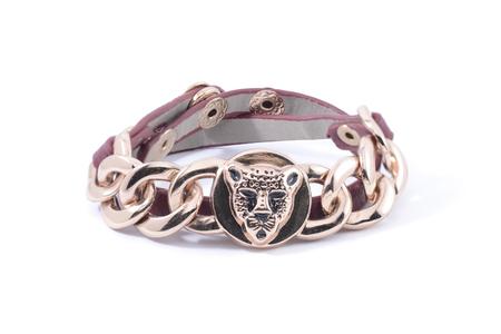 armlet: Bracelet isolated on white
