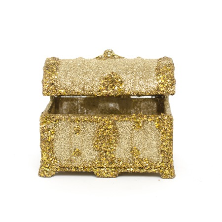 spangled: Decorative chest Spangled Stock Photo
