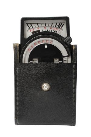 exposicion: fotómetro de mano de edad