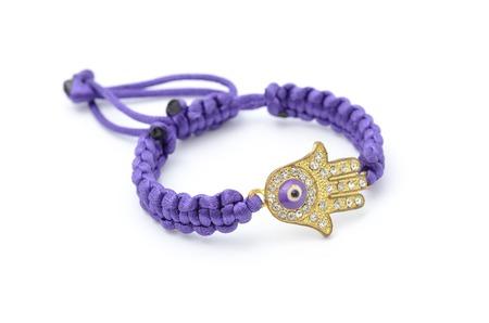 amulet: hamsa amulet isolated Stock Photo
