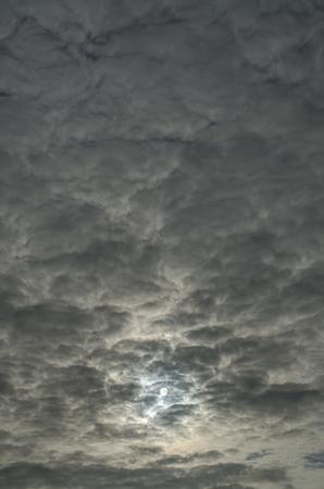 lumen: the sun in the clouds