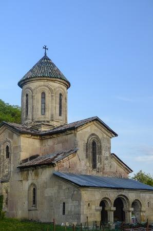 gelati: the old church against the blue sky