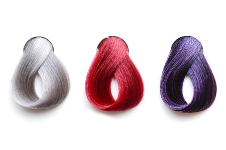 Hair samples isolated
