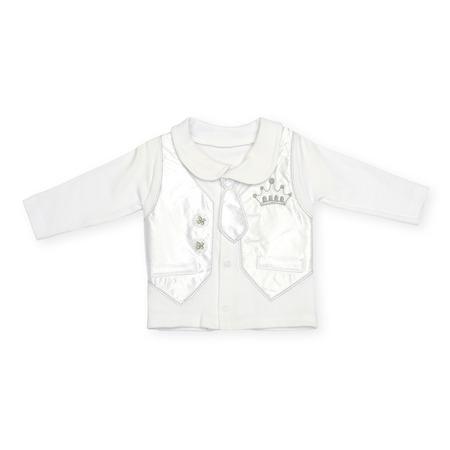 sudadera: Childrens sweatshirt isolated on white