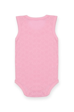 baby bodysuit with pattern Isolated on white,behind Stock Photo