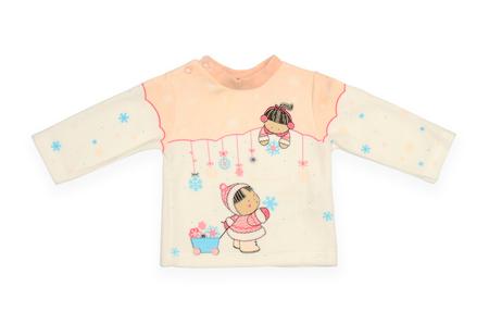 sweatshirt: Childrens sweatshirt isolated on white