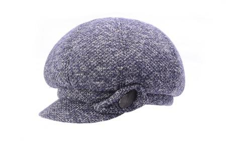 women's newsboy cap Isolated on white Stock fotó