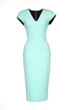 sheath: sheath dress isolated on white