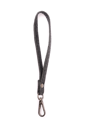 Strap from bag isolated
