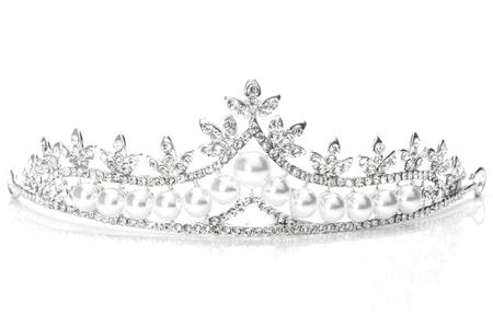 tiara isolated on a white background