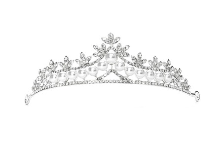 tiara isolated on a white background