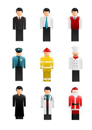 chef caricatura: Colecci�n de iconos de la gente