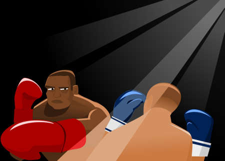 boxing training: In The RIng