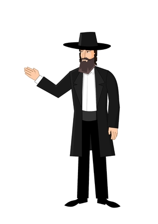 semite: Orthodox jewish man
