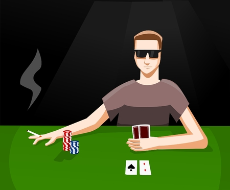 turn table: Playing poker