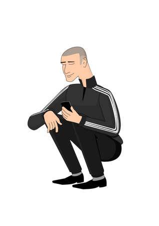 squat: Slav squat
