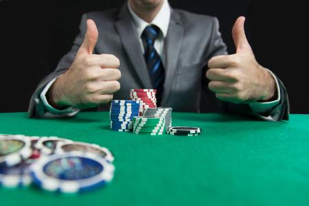 blackjack: Blackjack In A Casino Man Wins Gets Rich, Shows A Big Like