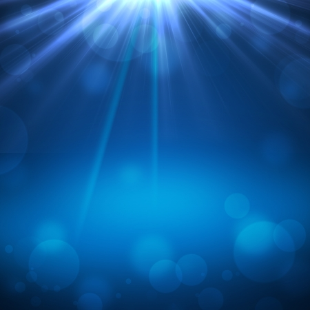 Abstract magic light background photo