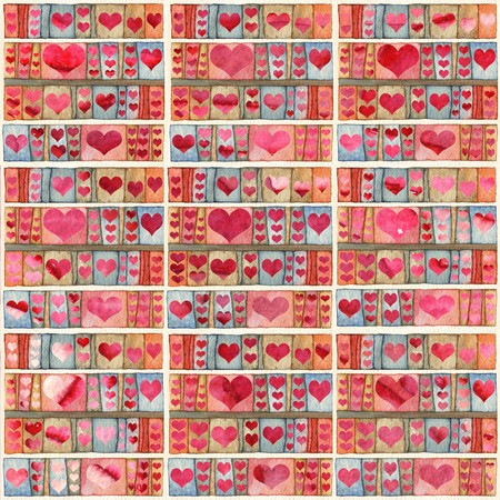 Background with hearts photo