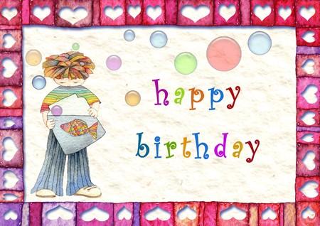 Happy birthday Stock Photo - 8046431