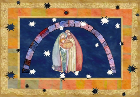 Christmas: Jesus Christ , Joseph, Mary photo