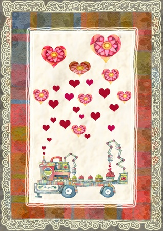 valentino: greeting card for Valentines Day