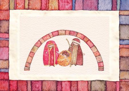 nascita di gesu: Natale, presepe Ges� Cristo, Giuseppe, Maria