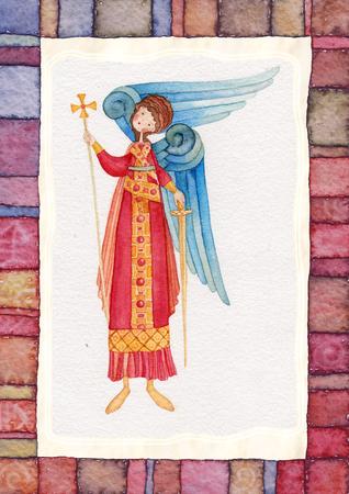 orthodoxy: Illustration of Guardian Angel