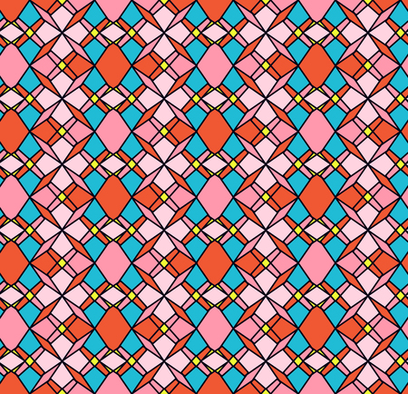 peper: Seamless geometric retro pattern for textile, Website background.