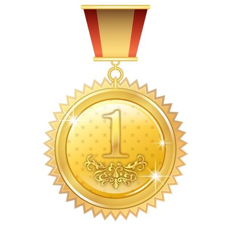 Gold Medal icon Stock fotó - 20914057