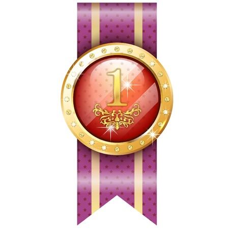 금메달 아이콘 일러스트