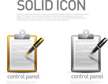 control panel: Icona del Pannello di controllo Vettoriali