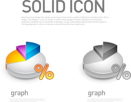 The pie chart icon