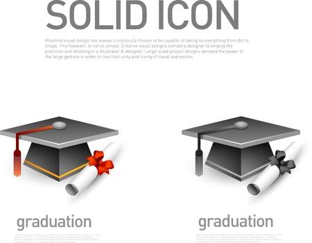 thesis: Graduation icon