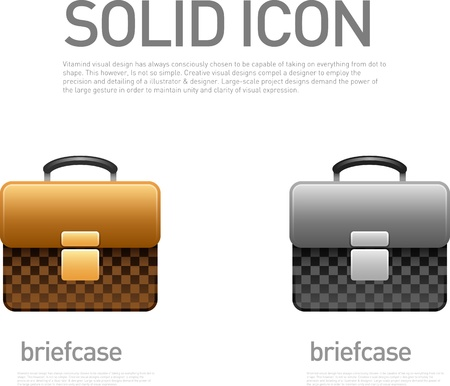 briefcase icon: Malet?n Icono