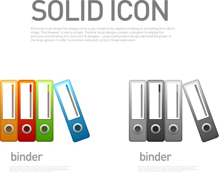 Binder Icon Stock Vector - 20911239