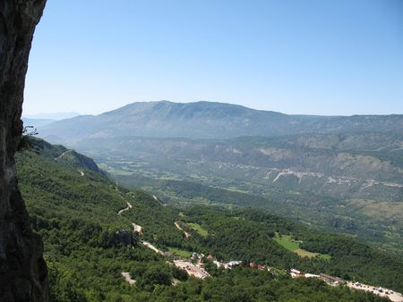 sity: Beautiful mountain landscape closed to Budva sity Montenegro