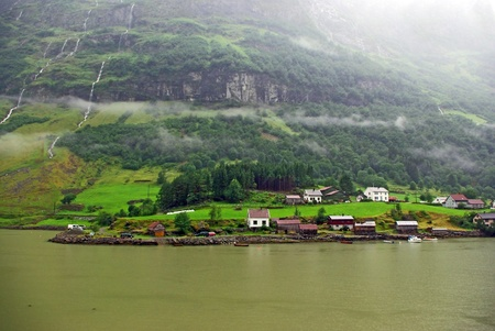Beautiful summer mountainous landscape of northern Norway Stock Photo - 12374569