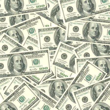 Cash Background  Stock Photo