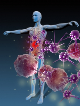 Protected individual repelling bacteria and viruses  Properly grouped with high resolution Stock Photo