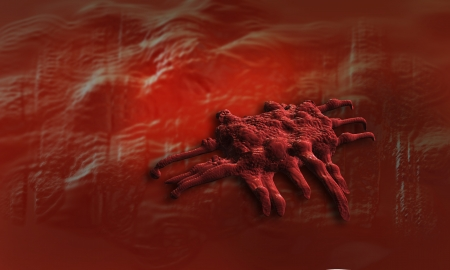 cancer cell of stomach   made in 3d software Stock Photo - 20096466