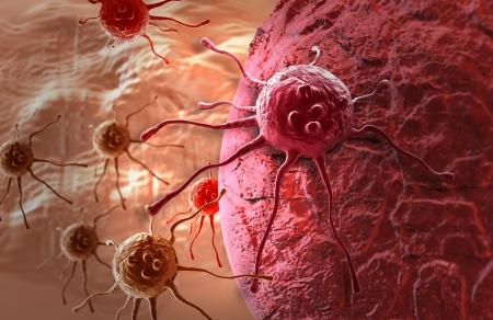 C?lula cancerosa hecha en 3D Foto de archivo - 20281497