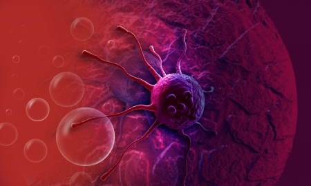cancer cell made in 3d software Stock Photo - 20281521