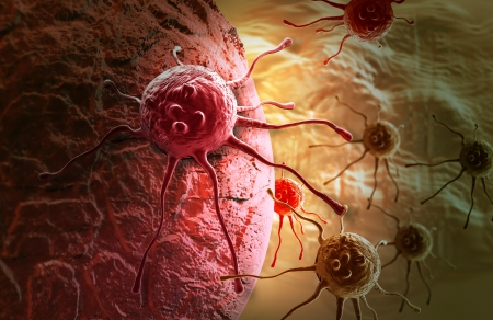 cancer cell made in 3d software Stock Photo - 20281495