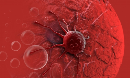 cancer cell made in 3d software Stock Photo - 20281520