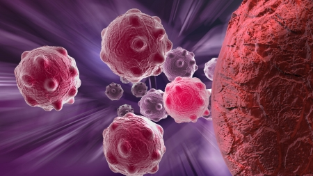 cancer cell made in 3d software Stock Photo - 20946313