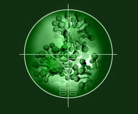 organism: cloud of micro organism