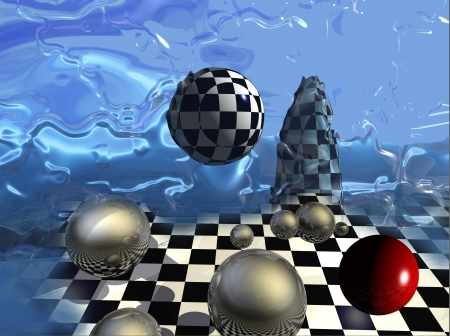 abstract background made in 2d software 版權商用圖片