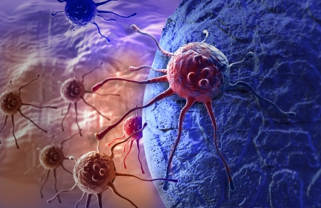cancer cell made in 3d software Stock Photo - 25554731